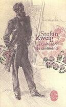 Couverture du livre « La confusion des sentiments ; coffret (édition 2011) » de Stefan Zweig aux éditions Lgf