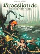 Couverture du livre « Brocéliande ; forêt du petit peuple T.4 ; le tombeau des géants » de Stephane Betbeder et Paul Frichet aux éditions Soleil