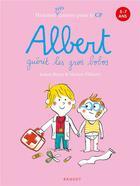 Couverture du livre « Albert t.3 ; Albert guérit les gros bobos » de Marion Piffaretti et Jeanne Boyer aux éditions Rageot