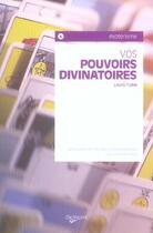 Couverture du livre « Pouvoirs divinatoires (vos) poche » de Laura Tuan aux éditions De Vecchi