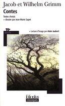 Couverture du livre « Contes » de Grimm/Grimm aux éditions Gallimard