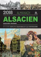 Couverture du livre « Almanach de l'alsacien (édition 2018) » de Gerard Bardon et Lucienne Delille aux éditions Communication Presse Edition