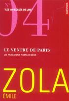Couverture du livre « Le Ventre De Paris » de Émile Zola aux éditions Autrement