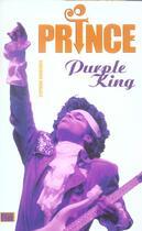 Couverture du livre « Prince ; Purple King » de Stephane Boudsocq aux éditions Music Book