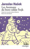 Couverture du livre « Les aventures du brave soldat Švejk » de Jaroslav Hasek aux éditions Gallimard