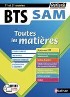 Couverture du livre « REFLEXE BTS ; support à l'action managériale ; toutes les matières ; 1re et 2e années (édition 2020) » de Collectif aux éditions Nathan