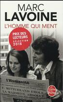 Couverture du livre « L'homme qui ment » de Marc Lavoine aux éditions Lgf