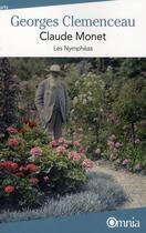 Couverture du livre « Claude Monet ; les nymphéas » de Georges Clemenceau aux éditions Omnia