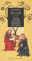 Couverture du livre « Mon coeur qui est maître de moi » de Orleans/Calvert aux éditions Alternatives