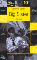 Couverture du livre « Big sister » de Jerome Leroy aux éditions J'ai Lu