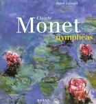 Couverture du livre « Claude monet nympheas » de Pierre Georgel aux éditions Hazan