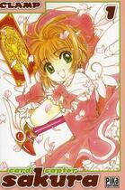 Couverture du livre « Card captor Sakura - édition double T.1 » de Clamp aux éditions Pika