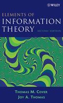 Couverture du livre « Elements of Information Theory » de Thomas M. Cover et Joy A. Thomas aux éditions Wiley-interscience