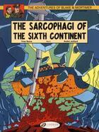 Couverture du livre « Blake et Mortimer T.10 ; the sarcophagi of the sixth continent t.2 » de Andre Juillard et Yves Sente aux éditions Cinebook