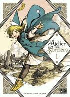Couverture du livre « L'atelier des sorciers T.1 » de Kamome Shirahama aux éditions Pika