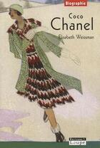 Couverture du livre « Coco Chanel » de Elisabeth Weissman aux éditions Editions De La Loupe