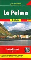 Couverture du livre « La Palma » de Collectif aux éditions Freytag Und Berndt