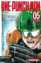 Couverture du livre « One-Punch Man T.5 » de Yusuke Murata et One aux éditions Kurokawa