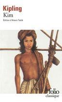 Couverture du livre « Kim » de Rudyard Kipling aux éditions Gallimard