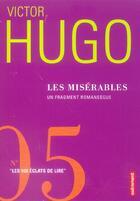 Couverture du livre « Les misérables » de Victor Hugo aux éditions Autrement