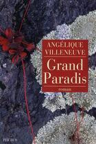 Couverture du livre « Grand paradis » de Angelique Villeneuve aux éditions Phebus