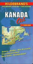 Couverture du livre « Kanada - ost. canada - the east » de  aux éditions Hildebrand