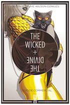 Couverture du livre « The wicked + the divine T.3 ; suicide commercial » de Kieron Gillen et Jamie Mckelvie et Matthew Wilson et Clayton Cowles aux éditions Glenat Comics