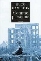 Couverture du livre « Comme personne » de Hugo Hamilton aux éditions Phebus