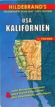 Couverture du livre « Californie recto verso » de Collectif aux éditions Hildebrand