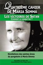 Couverture du livre « Les victoires de Satan ; comment les combattre ? » de Maria Simma aux éditions R.a. Image