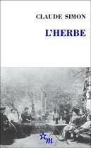 Couverture du livre « L'herbe » de Claude Simon aux éditions Minuit