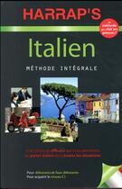 Couverture du livre « Méthode intégrale ; italien » de Maurice Elston et Lydia Vellacio aux éditions Harrap's