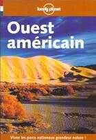 Couverture du livre « Ouest Americain » de Collectif aux éditions Lonely Planet France