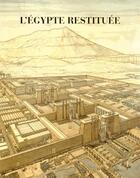 Couverture du livre « L'Egypte restituée ; coffret » de Jean-Claude Golvin et Sydney Herve Aufrere aux éditions Errance