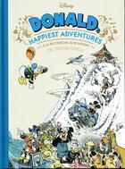 Couverture du livre « Donald's happiest adventures ; à la recherche du bonheur » de Lewis Trondheim et Nicolas Keramidas aux éditions Glenat