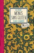 Couverture du livre « Menus sans gluten d'une cuisinière » de Sonia Ezgulian aux éditions Stephane Baches