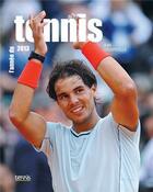 Couverture du livre « L'année du tennis 2013 » de Jean Couvercelle aux éditions Calmann-levy