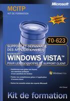 Couverture du livre « KF mcitp 70-623 Windows Vista » de Desai aux éditions Microsoft Press