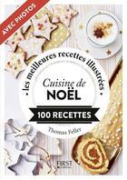 Couverture du livre « Cuisine de Noël » de Thomas Feller aux éditions First