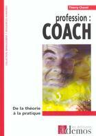 Couverture du livre « Profession Coach » de Chavel aux éditions Demos