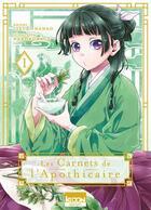 Couverture du livre « Les carnets de l'apothicaire T.1 » de Itsuki Nanao et Nekokurage aux éditions Ki-oon