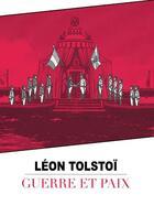 Couverture du livre « Guerre et paix » de Leon Tolstoi aux éditions Soleil