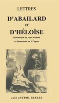 Couverture du livre « Lettres d'Abailard et d'Héloise » de Pierre Abelard et Heloise aux éditions L'harmattan