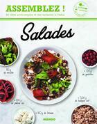Couverture du livre « Salades » de Isabel Lepage aux éditions Mango