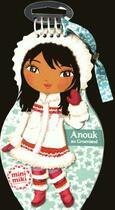 Couverture du livre « Carnet créatif ; Anouk au Groenland » de Julie Camel aux éditions Play Bac