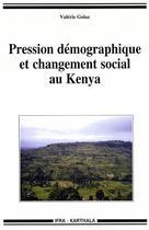 Couverture du livre « Pression démographique et changement social au Kenya » de Wip aux éditions Karthala
