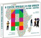 Couverture du livre « A comme Afrique ; a for Africa » de Franck Houndegla et Catherine Martin-Payen aux éditions Grandvaux
