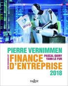 Couverture du livre « Finance d'entreprise (édition 2018) » de Collectif et Pierre Vernimmen aux éditions Dalloz