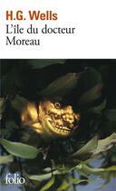 Couverture du livre « L'île du docteur Moreau » de Herbert George Wells aux éditions Gallimard
