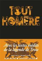 Couverture du livre « Tout Homère » de Homere aux éditions Albin Michel